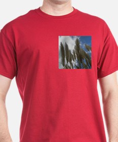 Pampas Grass and Sky T-Shirt