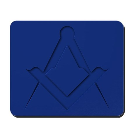 Square and Compasses Mousepad