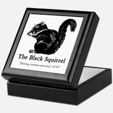 The Black Squirrel -- Keepsake Box