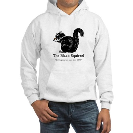 The Black Squirrel -- Hooded Sweatshirt