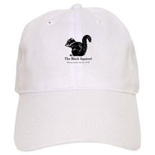 The Black Squirrel -- Baseball Baseball Cap