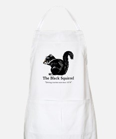 The Black Squirrel -- BBQ Apron