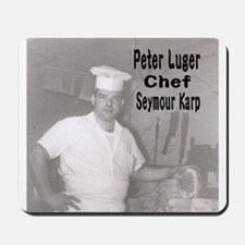 Chef Seymour Karp Mousepad