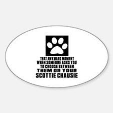 Awkward Scottie chausie Cat Designs Decal