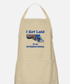 International Trucker Shirts BBQ Apron