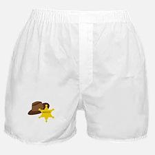 Deputy Hat Boxer Shorts