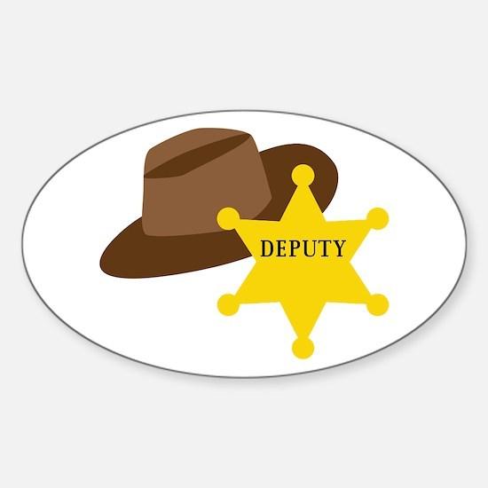 Deputy Hat Decal