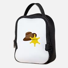 Deputy Hat Neoprene Lunch Bag