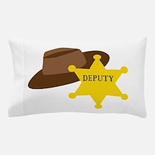Deputy Hat Pillow Case