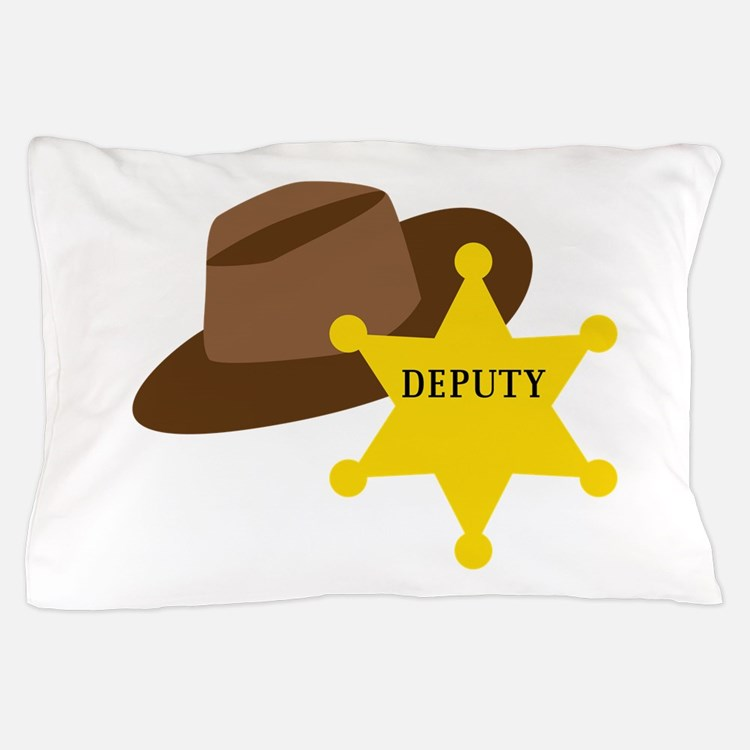 Deputy Hat Pillow Case