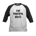 Funny Principal Kids Baseball Jersey