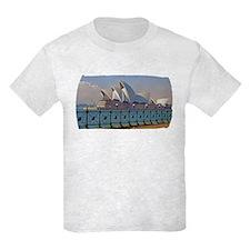 Sydney Opera House with Fence T-Shirt