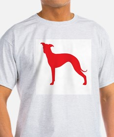 Greyhound Two Red 1 T-Shirt