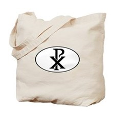 Christ Monogram Tote Bag