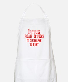 Cheaper To Rent BBQ Apron