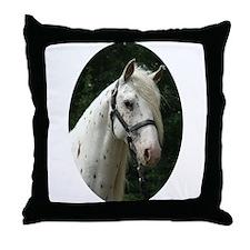 Spanish Jennet Stallion Throw Pillow