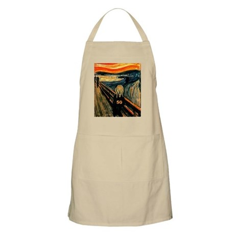 Scream 50th BBQ Apron