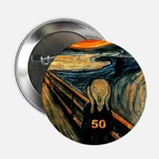 "Scream 50th 2.25"" Button (10 pack)"