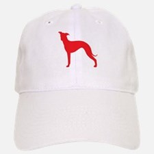 Greyhound Two Red 2 Baseball Baseball Baseball Cap