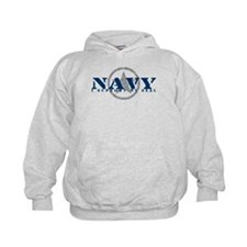 Navy - I Support My Seal Hoodie