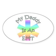 EMT Daddy Oval Decal