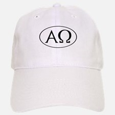 Alpha and Omega Baseball Baseball Cap
