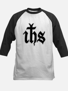 IHS (Jesus Monogram) Kids Baseball Jersey