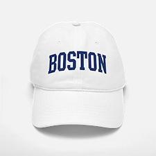 BOSTON design (blue) Baseball Baseball Cap