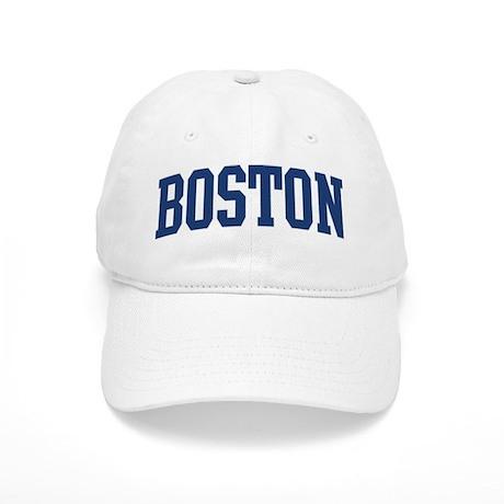 BOSTON design (blue) Cap