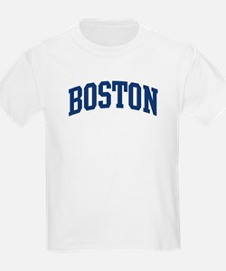 BOSTON design (blue) T-Shirt