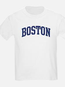 BOSTON design (blue) T-Shirt