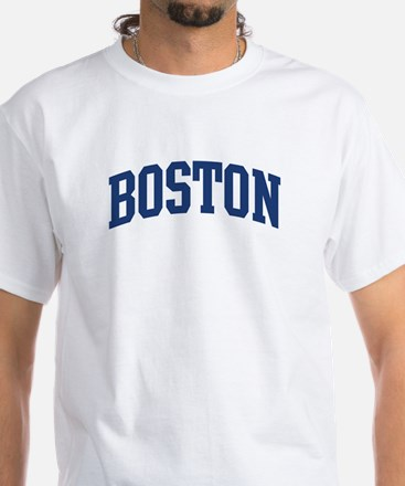 BOSTON design (blue) Shirt