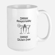 Drink Responsibly Gluten-Free MugMugs