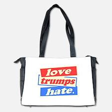 Love Trumps Hate Diaper Bag