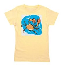 Cute Crab charm Girl's Tee