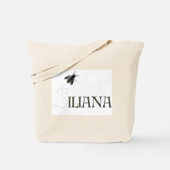 Silly Iliana Bee --  Tote Bag