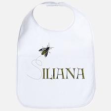 Silly Iliana Bee --  Bib