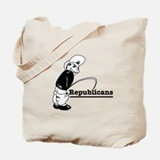 Piss on Republicans Tote Bag