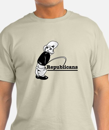 Piss on Republicans T-Shirt