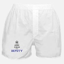 DEPUTY I cant keeep calm Boxer Shorts