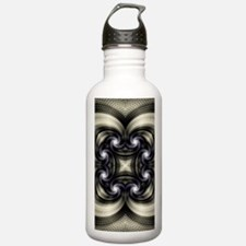 Husk Pattern Water Bottle