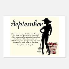 September Postcards (Package of 8)