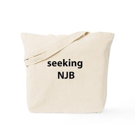seeking NJB Tote Bag