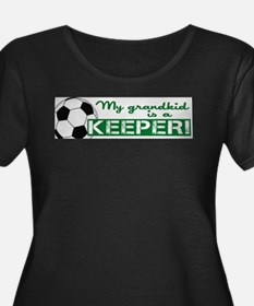 Proud grandparent of a soccer goalkeeper Plus Size
