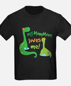 My MomMom Loves Me Dinosaur T-Shirt