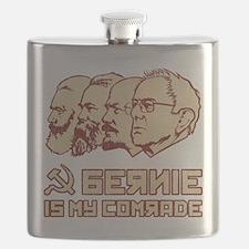 Bernie Is My Comrade Flask