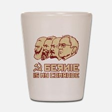 Bernie Is My Comrade Shot Glass