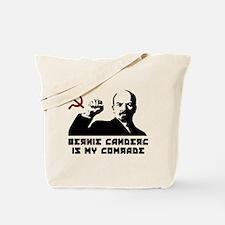 Bernie Sanders Is My Comrade Tote Bag