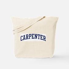 CARPENTER design (blue) Tote Bag