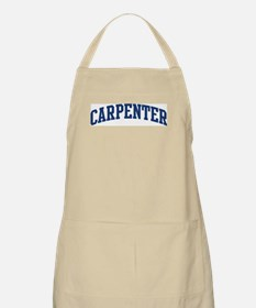 CARPENTER design (blue) BBQ Apron